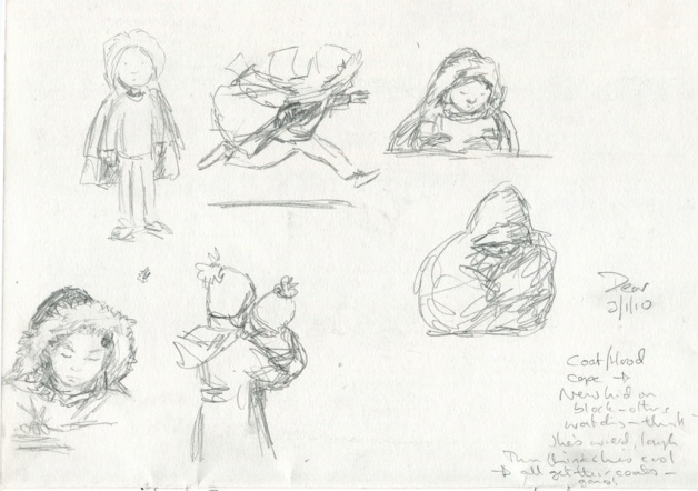 The-New-Kid-first-sketches