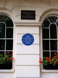 George Bernard Shaw and Virginia Woolf both lived here