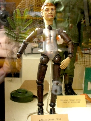 How insane is this articulated Tommy doll?