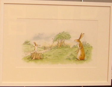 Anita Jeram's hares in Guess How Much I Love you.