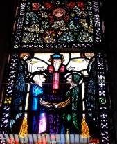 Predella of marriage of Joseph and Mary