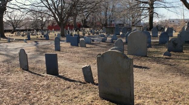 Old Salem graveyard