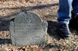 The littlest grave stone