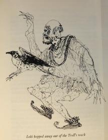 Brian Wildsmith 1962 illustration to Roger Lancelyn Green's Myths of Norsemen