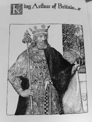 Howard Pyle 1903 illustration to King Arthur and his Knights