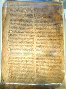 The Book of Leinster - one of the earliest written versions of the Táin