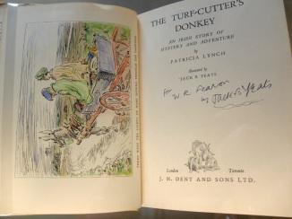 Jack B Yeats illustration to Patricia Lynch's Turf-cutter's Donkey 1934