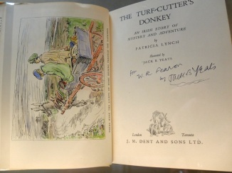 Jack B Yeats illustration to Patricia Lynch's Turf-cutter's Donkey 1934