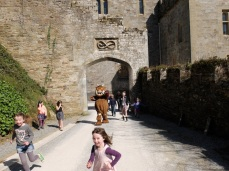 Gruffalo in the castle!