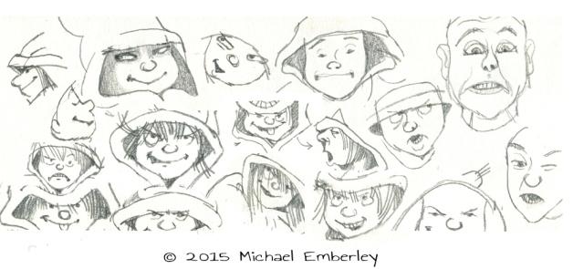 Michael faces