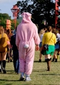 People dress up. There were loads of onesies...