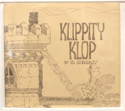 Klippity Klop (1974). The art is pencil line with plenty of cross-hatching.