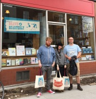 Drawn & Quarterly bookshop at Mile End (where William Shatner grew up)