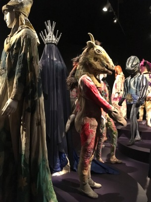 Costumes for the ballet at the fabulous Marc Chagall exhibition at the Museum of Fine Arts