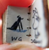 William Grills - Antarctic dog