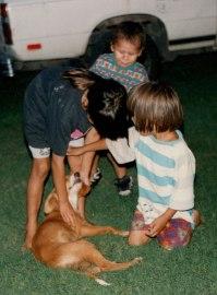 Rachel, Nashoba and Jesse